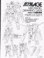 Gundam AGE-1 Full Granza - Equipment