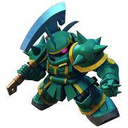 SD Gundam G Generation Genesis Dozle Zaku