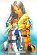Gundam Chars Counterattack - High Streamer RAW Novel V03-002