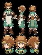 Yukio Hidaka character sheet