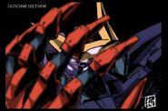 Gundam Seltsam concept art by Takayuki Yanase