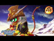 """SD GUNDAM WORLD HEROES - Episode 16 """"Days of Regret""""(w-subtitles)"""