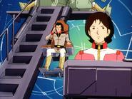 Mobile Suit Gundam Journey to Jaburo PS2 Cutscene 013 Bright Mirai