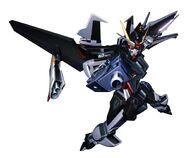 Mobile Suit Gundam SEED Stargazer - GAT-X105E+AQME-X09S Strike Noir 1