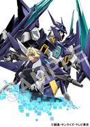 Kujo & Gundam AGEII Magnum Blu-Ray Information