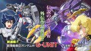 Mobile Suit Gundam Wing G-UNIT Poster