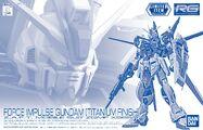 RG Force Impulse Gundam -Titanium Finish-