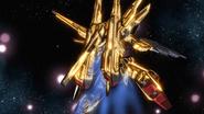 Shiranui Akatsuki Gundam Rear 01 (Seed Destiny HD Ep48)