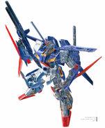 ZZ Gundam Illust Mamoru Itou