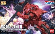 HG Gundam The Origin MS-06S Char's Zaku II