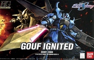 HG GOUF Ignited Cover