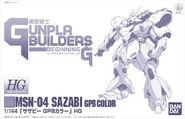 HG Sazabi GPB Color