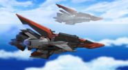 Murasame Flying 02 (Seed Destiny Ep14)