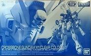 RG Crossbone Gundam X-1 -Clear Color-