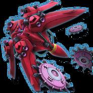 Gundam Diorama Front 3rd XMA-01 Rafflesia