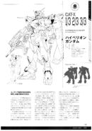 Hyperion Gundam Lineart 1