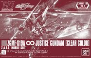 HGCE ∞ Justice Gundam -Clear Color-