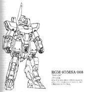 MSA-008 (RGM-87) Bar-GM Data and Design