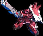 SD Gundam G Generation Crossrays Gunner zaku
