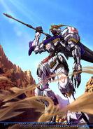 MS Gundam Calendar 2020 07-08