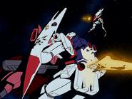 Gelgoog J destroys GM Command