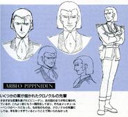 Hiroshi Ousaka Design Works - Arbeo Pippiniden