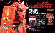 MS-06S Zaku II MSV-R