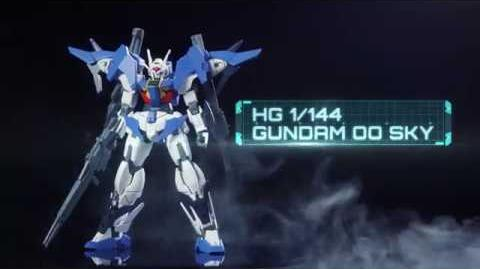 HG 1 144 GUNDAM 00 SKY promotional video COMING SOON