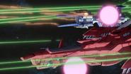 Eternal and Kusanagi in Battle 01 (Seed HD Ep46)