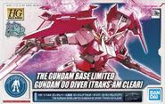 HGBD Gundam 00 Diver -Trans-Am Clear-