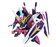 ''SD Gundam G Generation Crossrays'' Justice Gundam