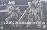 HGUC Sinanju Stein (Unicorn Ver.)