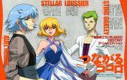 Auel Stella and Sting Illustration by Rie Kawaguchi