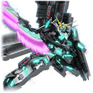 Gundam Diorama Front 3rd RX-0 Full Armor Unicorn Gundam Green F