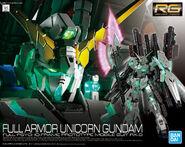 RG Full Armor Unicorn Gundam
