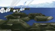 Vosgulov Firing Missiles (SEED HD Ep35)
