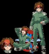 Gundam info Character Sheet Vino Dupre