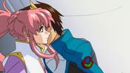 Kira Kisses Lacus (Seed HD Ep48)