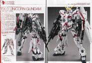RX-0 - Unicorn Gundam - Destroy Mode