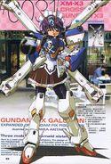 Anime girl in crossbone gundam