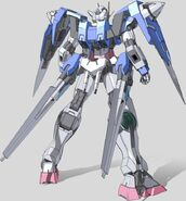 Cel 00 Gundam back