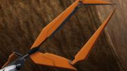 Gundam Kyrios GN Shield Claw 01 (00 S1,Ep15)
