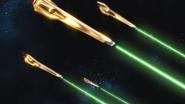 Shiranui Akatsuki Gundam DRAGOON Firing 01 (Seed Destiny HD Ep49)