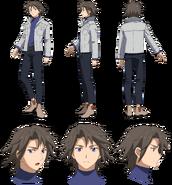 Masaki Shido (Real) Character Sheet