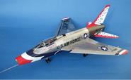 """F-100D Super Sabre """"Thunderbirds"""""""