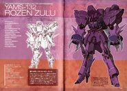 YAMS-132 Rozen Zulu - SpecsTechDetailDesign
