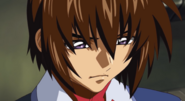 Kira in Deep Thought 01 (Seed Destiny HD Ep38)