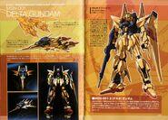 MSN-001 δ Gundam - TechDetailDesign