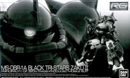 RG Black Tri-Stars Zaku II