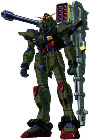 Sumbullet Raigo Gundam (Front)